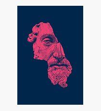 MARCUS AURELIUS ANTONINUS AUGUSTUS / prussian blue / vivid red Fotodruck