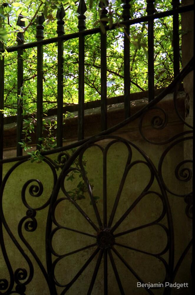 Garden Gate, Charleston, SC by Benjamin Padgett