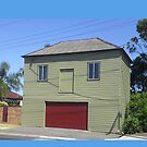 Smiling Garage, Newcastle NSW Australia by KazM
