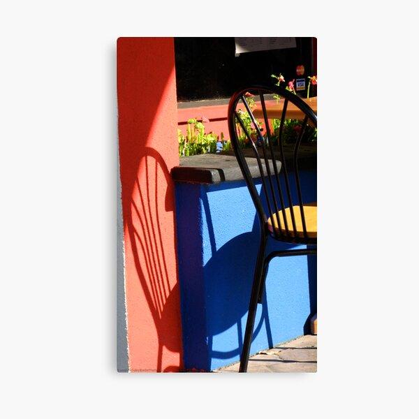 Cafe Sitdown Canvas Print