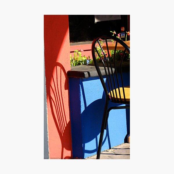 Cafe Sitdown Photographic Print