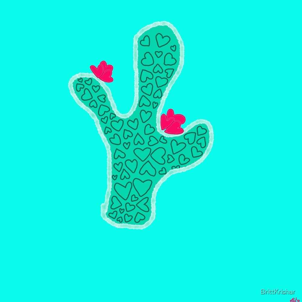 I love cactus by BrittKrishar