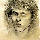 Portrait of Skip by Roz McQuillan