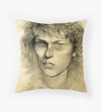 Portrait of Skip Throw Pillow