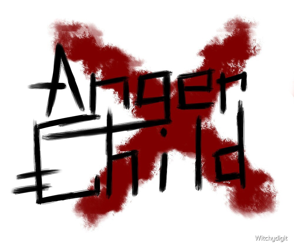 Anger Child by Witchydigit