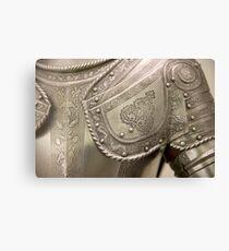 Medieval armour Canvas Print