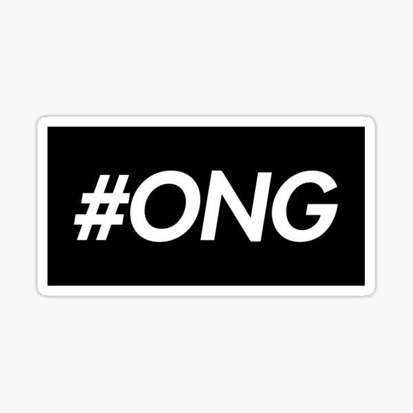 Produce 101 Wanna One Ong Seongwoo #ONG Sticker