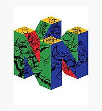 Nintendo 64 Photographic Print