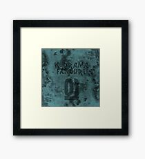 STAUNCHCORE CO. - K-Drama Fangurl 01 Suede Edition Framed Print