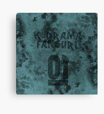 STAUNCHCORE CO. - K-Drama Fangurl 01 Suede Edition Canvas Print