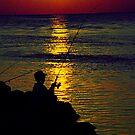 """""""The Fisherman"""" by Jaime Hernandez"""