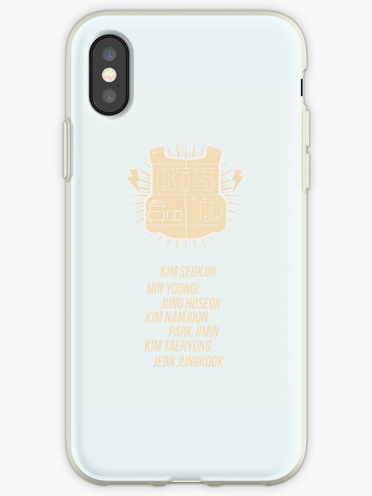 Pastel Bulletproof vest w/ member names - iPhone ver by hobiforjin
