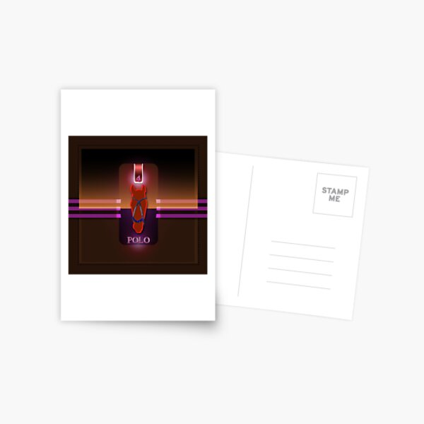 polohorse red Postcard