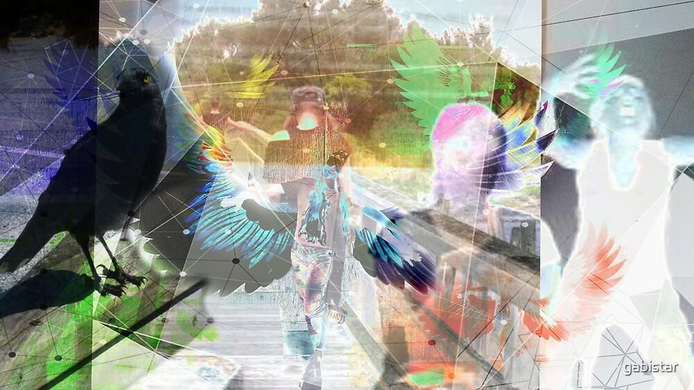 Flight of the Warrior  by gabistar