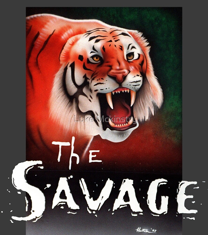 The Savage by Luke Mckinstry
