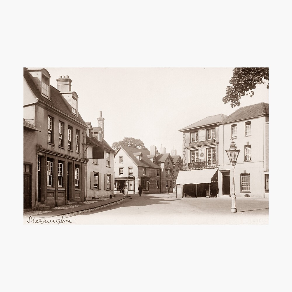 Ref: 73 - High Street, Storrington, West Sussex. Photographic Print