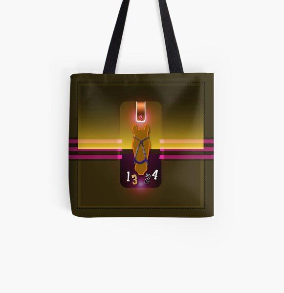 polohorse purple orange All Over Print Tote Bag