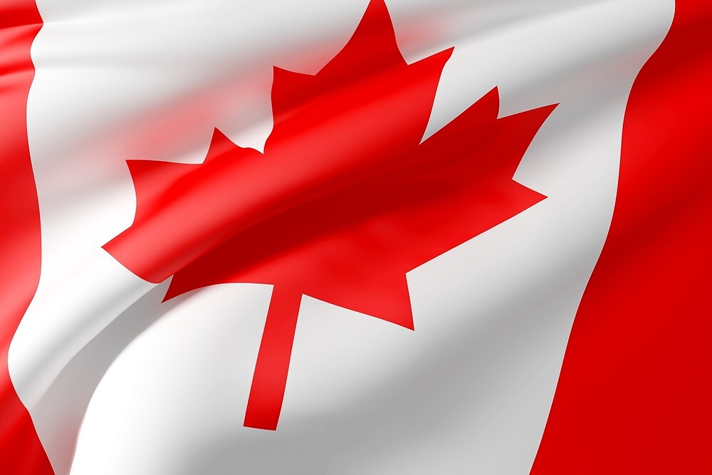 Canada flag by erllre74