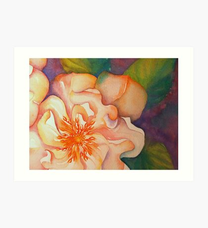 rambling rose 'for the love of flowers' © 2007 patricia vannucci  Art Print