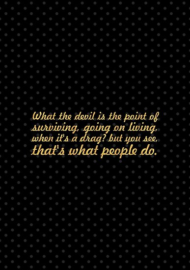 """What the devil is... """"Alan Watts"""" Life Inspirational Quote by Powerofwordss"""