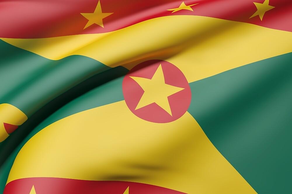 Grenada flag by erllre74