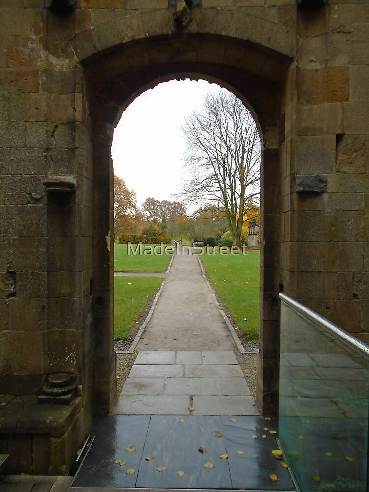 Glastonbury Abbey by Karen Chard