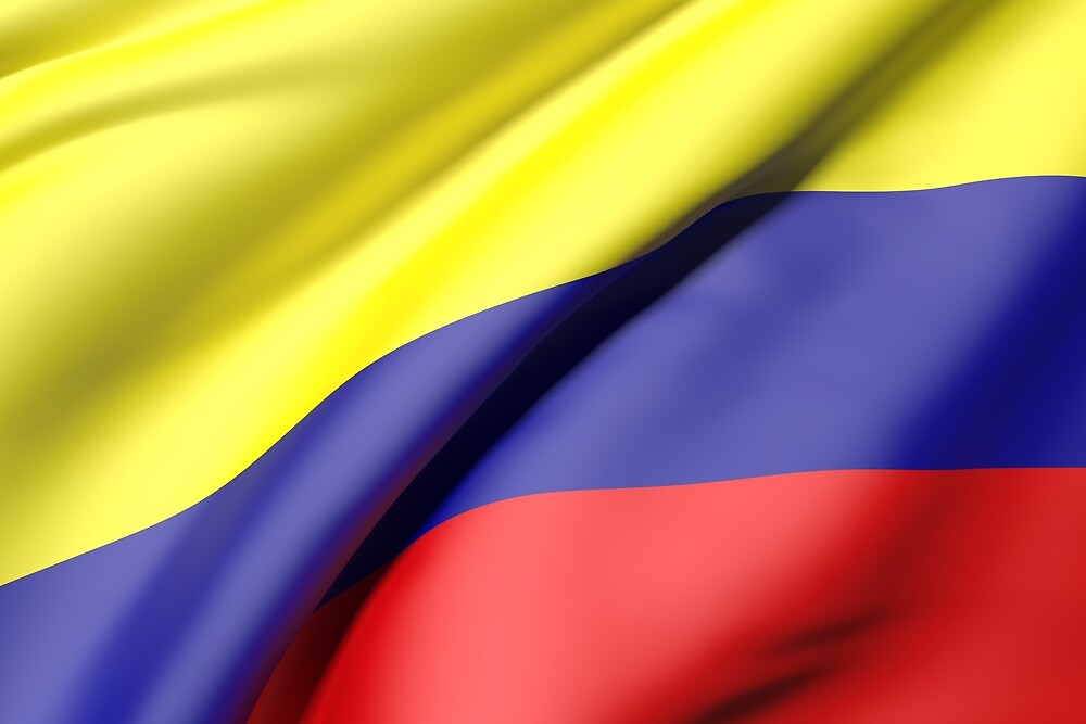 Colombia flag by erllre74