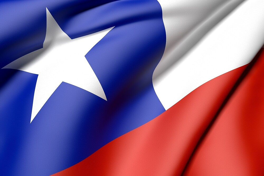 Chile flag by erllre74