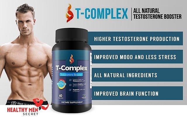 T-Complex Testosterone Booster by Healthy Men Secret