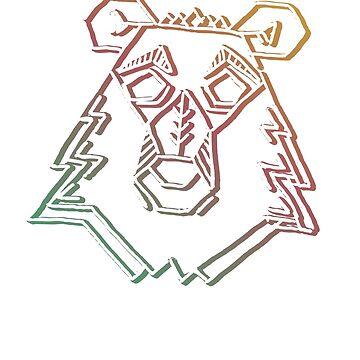 Bear Sketch by B-Bart
