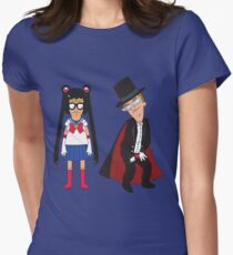 Tina Moon and Buttexdo Mask T-Shirt