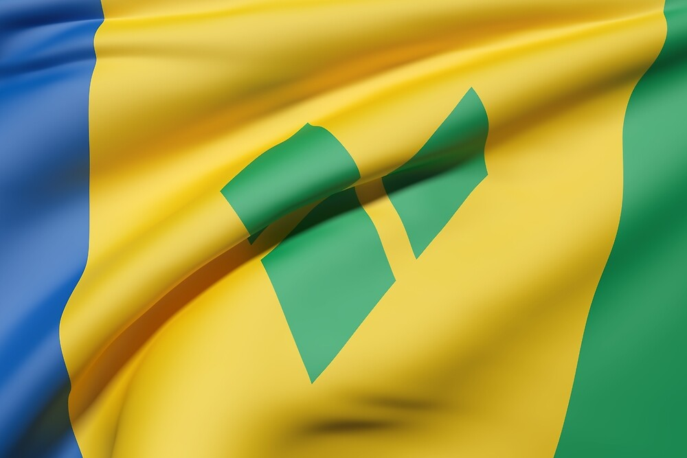 Saint Vincent and the Grenadines flag by erllre74