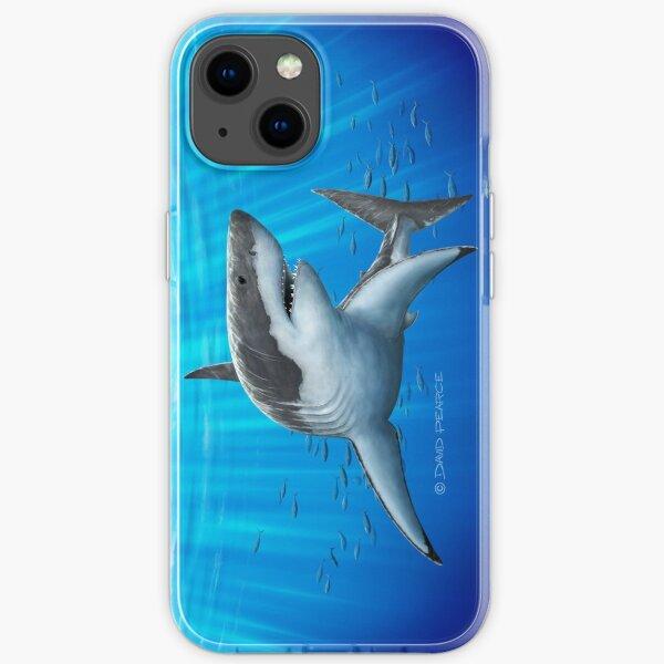 Blue Predator iPhone Soft Case