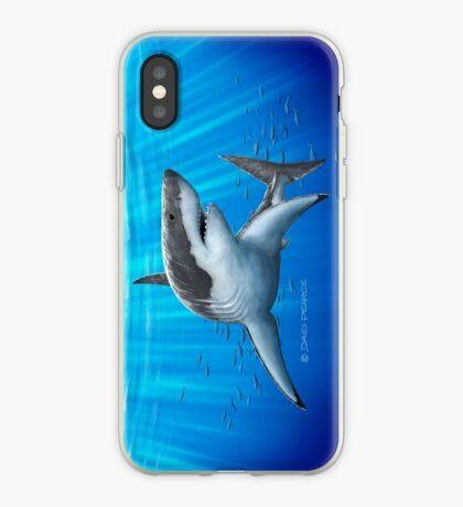 Blue Predator iPhone Case
