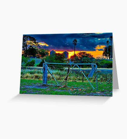 """At The Farm Gate"" Greeting Card"