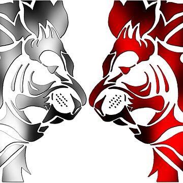 The Lions Roar by CassieGannon