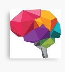 creative brain Canvas Print