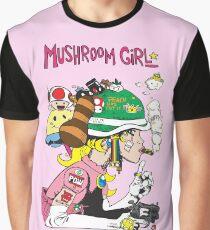 Mushroom Girl Graphic T-Shirt