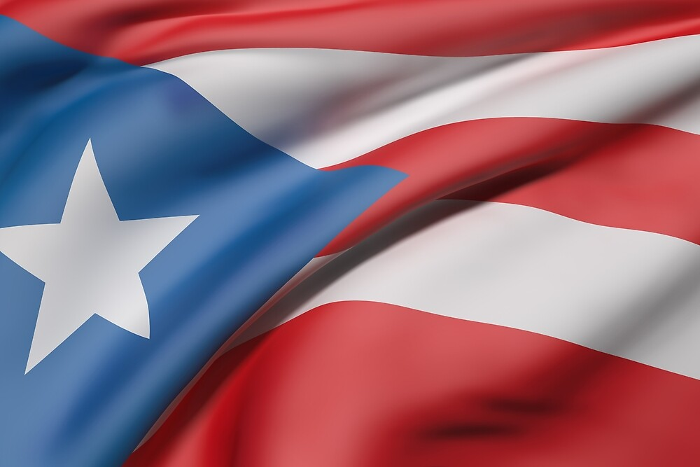 Puerto Rico flag by erllre74