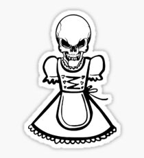 Costumes circus - Bavarian style - beer tent - Germany - Austria Sticker