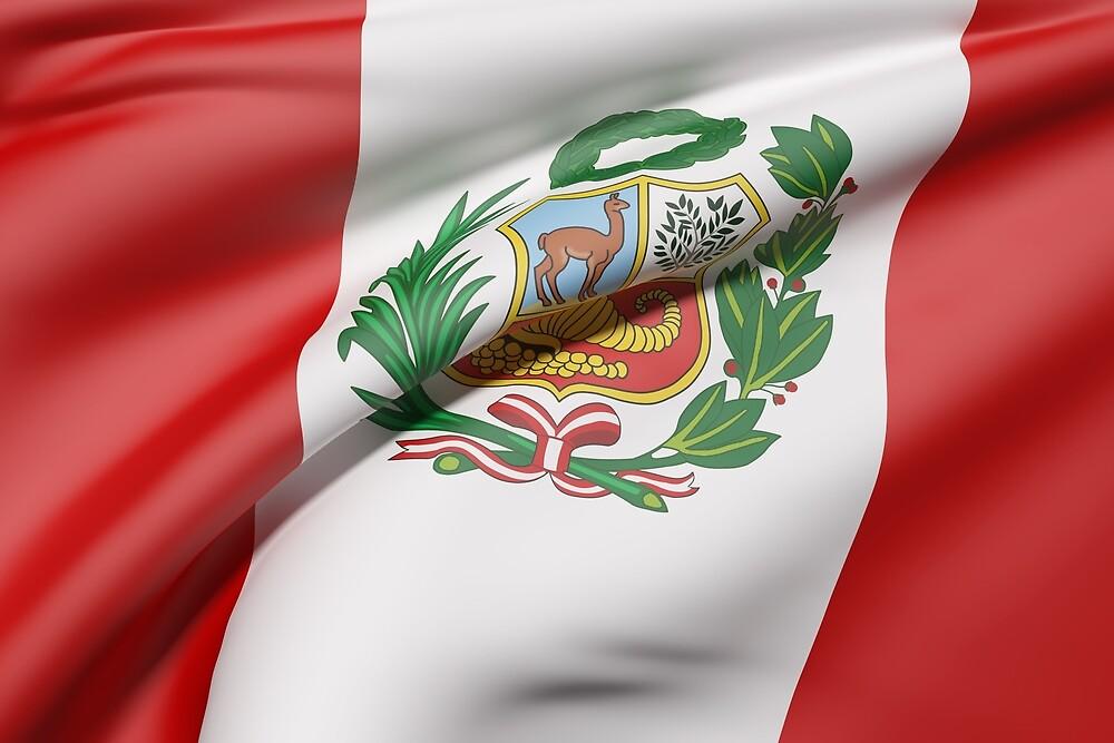 Peru flag by erllre74