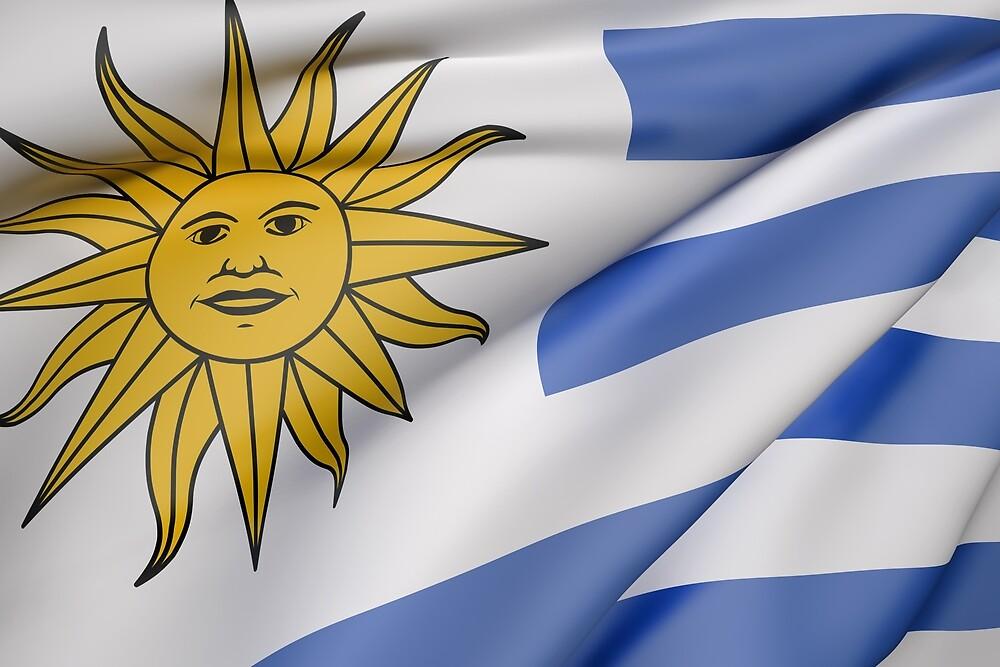 Uruguay flag by erllre74