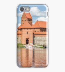 Trakai Castle on Lake Galve Island iPhone Case/Skin