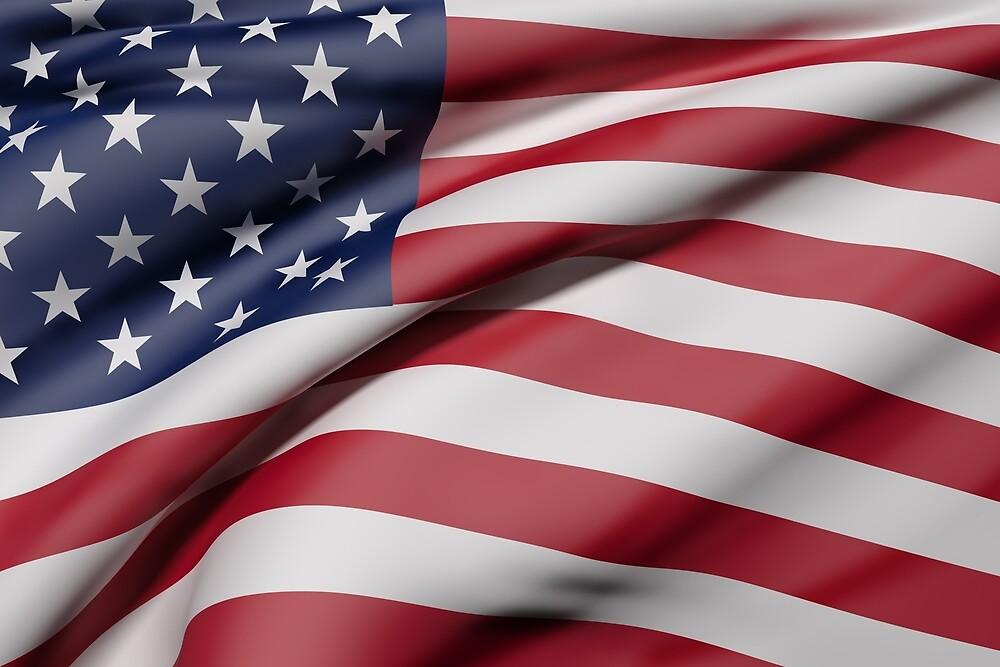 USA flag by erllre74
