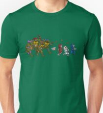 Turtles VS Cats Unisex T-Shirt