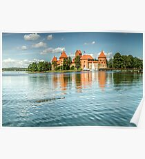 Trakai Castle in Lithuania Poster