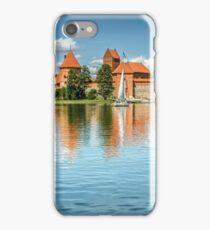 Trakai Castle on Lake Galve iPhone Case/Skin
