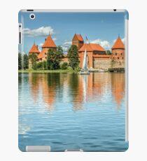 Trakai Castle on Lake Galve iPad Case/Skin