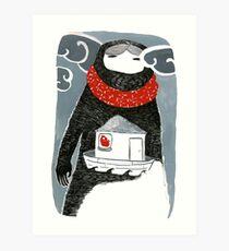The Woman Who Waited Art Print