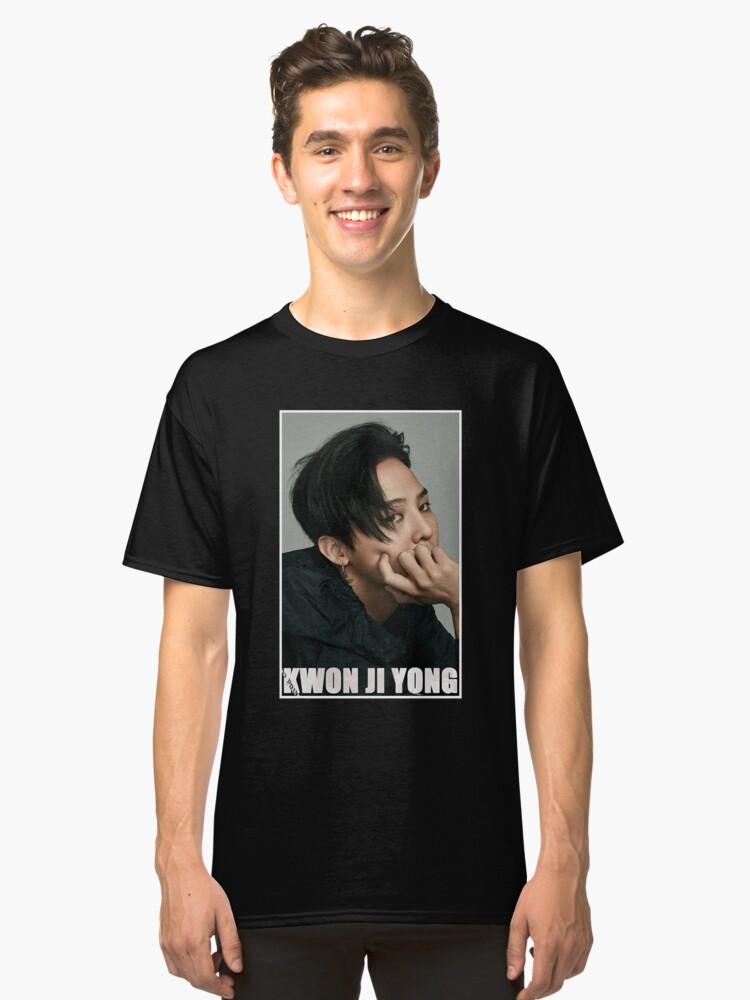 Kwon Ji Yong Classic T-Shirt Front